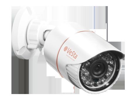 Камера видеонаблюдения VC-4300 белая
