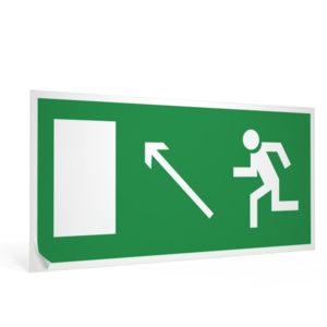 znak-e-06-napravlenie-k-evakuatsionnomu-vykhodu-nalevo-vverkh-15x30-sm