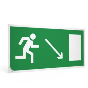 znak-e-07-napravlenie-k-evakuatsionnomu-vykhodu-napravo-vniz-15x30-sm